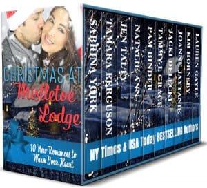 Cover for Christmas at Mistletoe Lodge