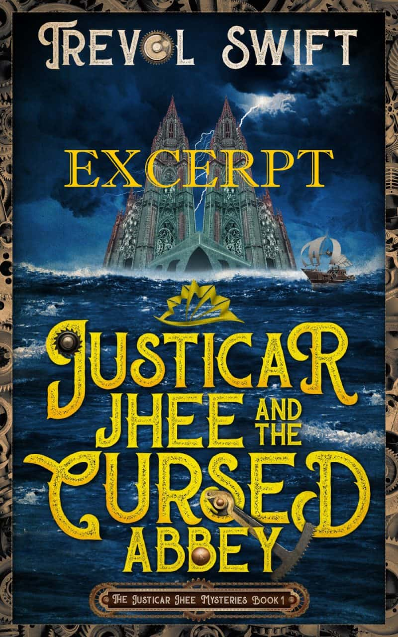 Cover for Justicar Jhee and the Cursed Abbey