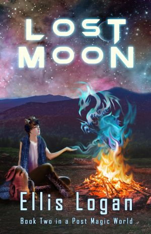 Cover for Lost Moon