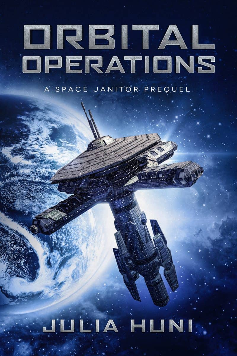 Cover for Orbital Operations: A Space Janitor Prequel