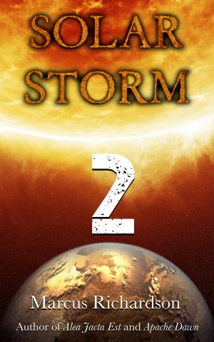 Cover for Solar Storm: Book 2