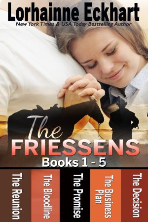 Cover for The Friessens Books 1–5