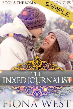 Cover for The Jinxed Journalist