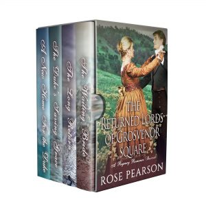 Cover for The Returned Lords of Grosvenor Square: A Regency Romance Boxset
