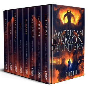 Cover for American Demon Hunters