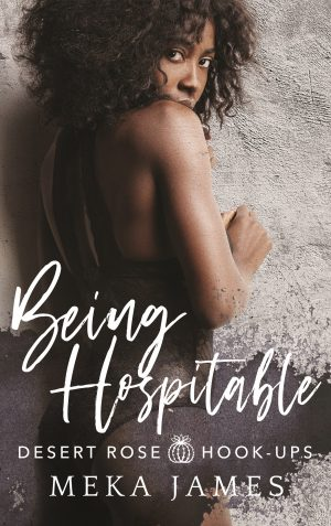 Cover for Being Hospitable