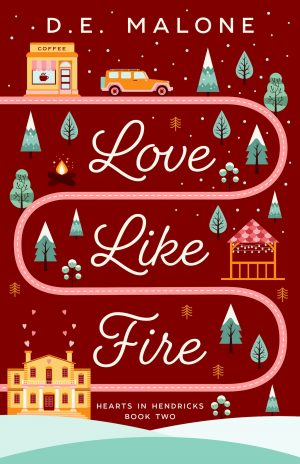 Cover for Love like Fire