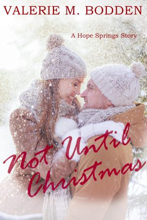 Cover for Not Until Christmas: A Christian Romance Short Story