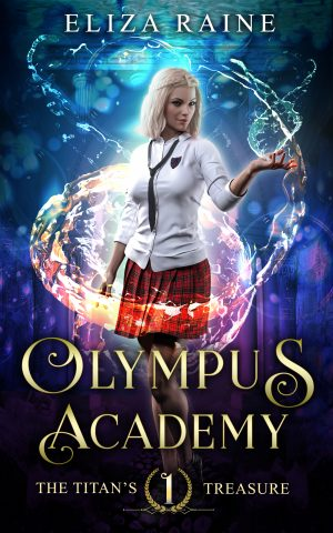 Cover for Olympus Academy: The Titan's Treasure