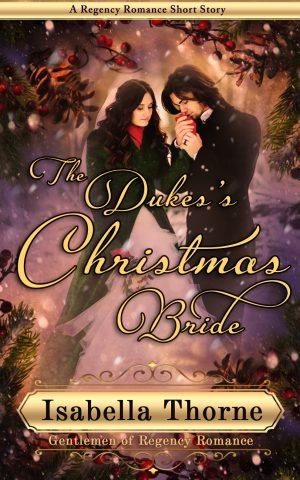 Cover for The Duke's Christmas Bride