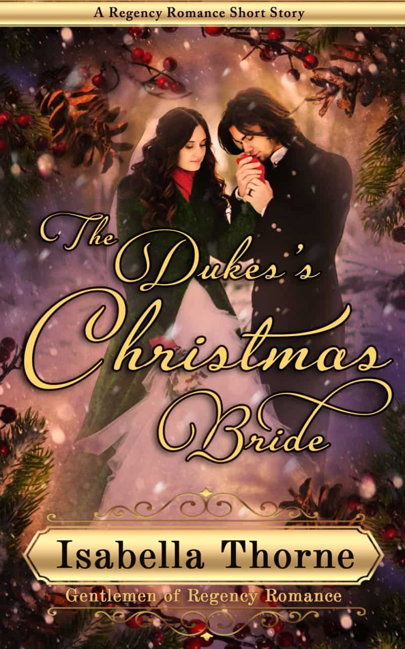 Cover for The Duke's Christmas Bride