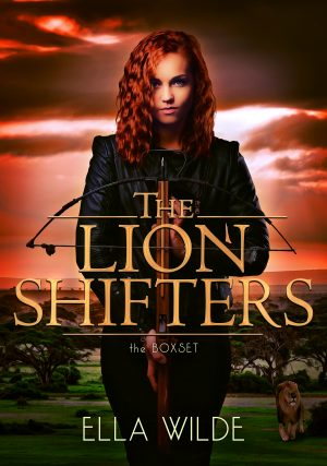 Cover for The Lion Shifters
