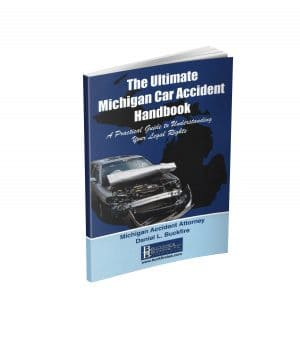 Cover for The Ultimate Michigan Car Accident Handbook