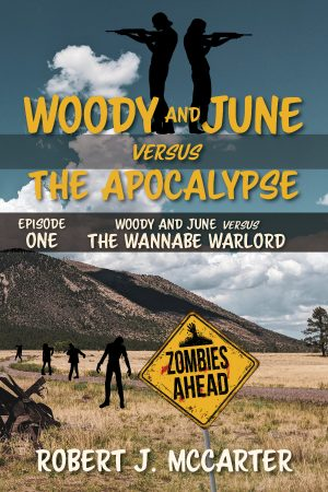 Cover for Woody and June versus the Wannabe Warlord