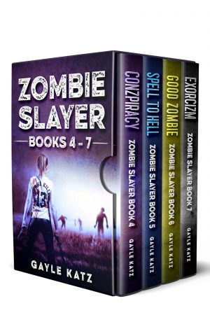 Cover for Zombie Slayer Box Set 2: Conzpiracy, Spell to Hell, Good Zombie, Exorcizm