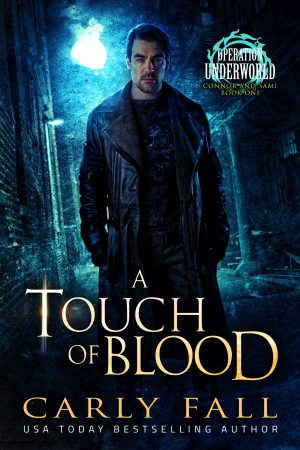 Cover for A Touch of Blood