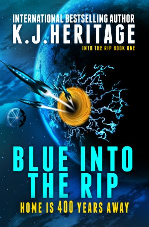 Cover for Blue into the Rip