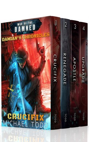Cover for Damian's Chronicles Complete Series Boxed Set