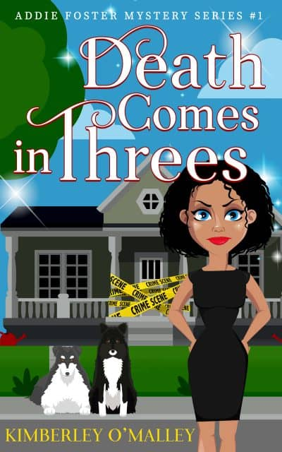 Cover for Death Comes in Threes
