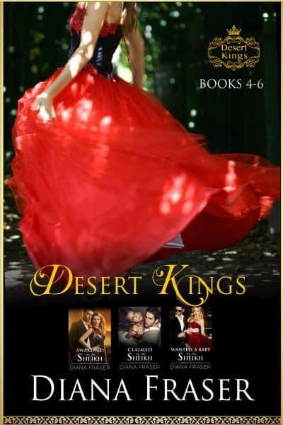 Cover for Desert Kings Boxed Set: Books 4-6
