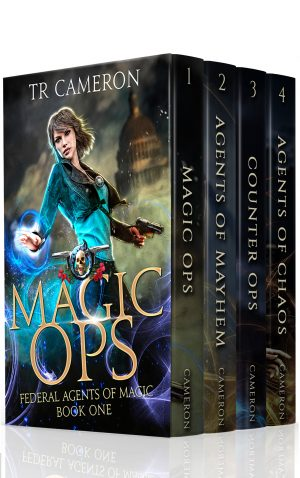 Cover for Federal Agents of Magic Boxed Set 1