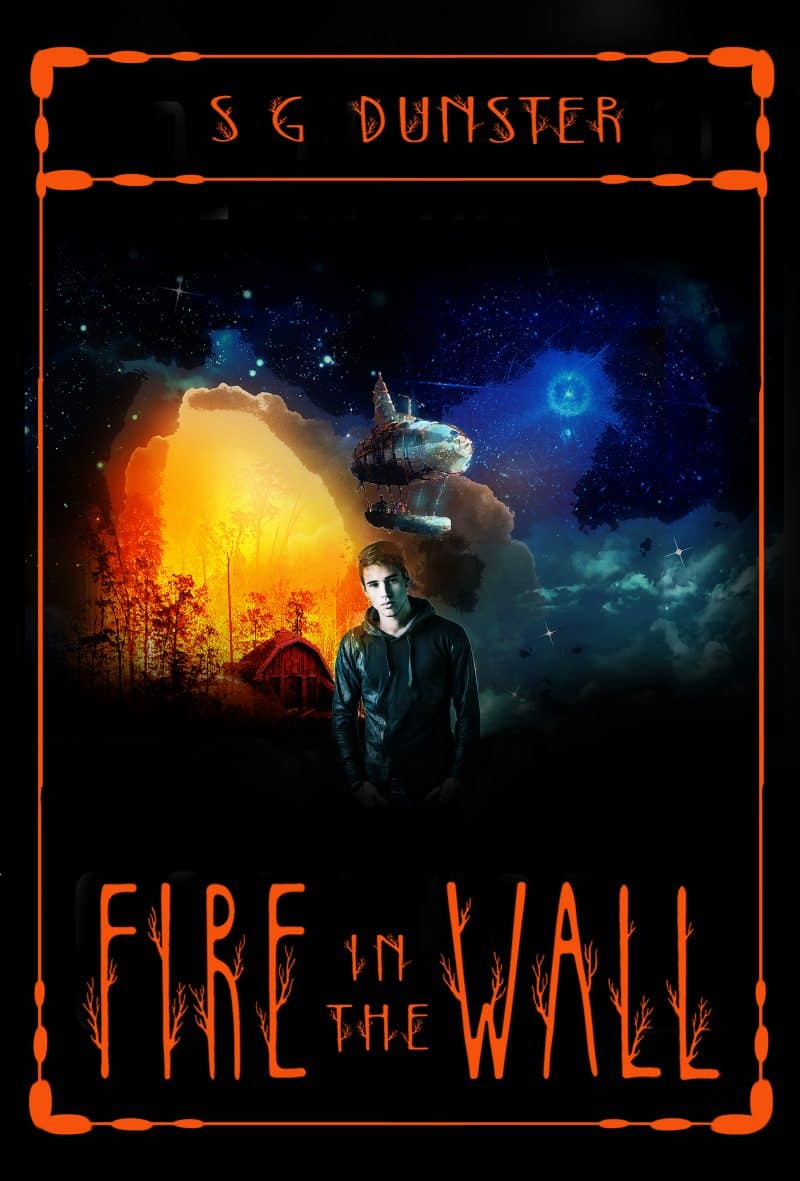 Cover for Fire in the Wall: Caldera Series Book 1