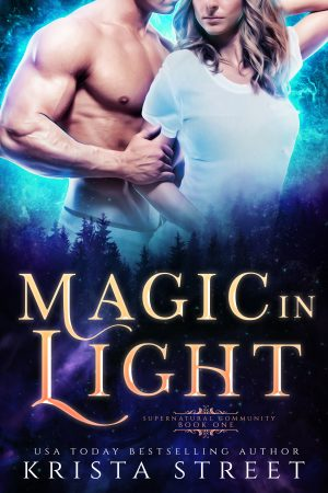 Cover for Magic in Light