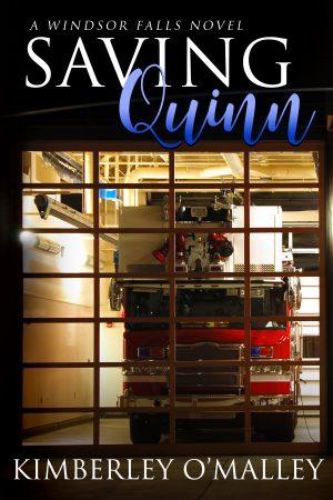Cover for Saving Quinn
