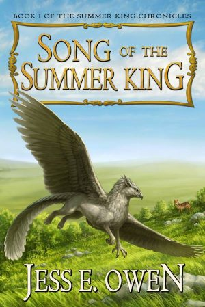 Cover for Song of the Summer King