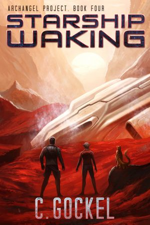 Cover for Starship Waking
