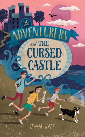 Cover for The Adventurers and the Cursed Castle