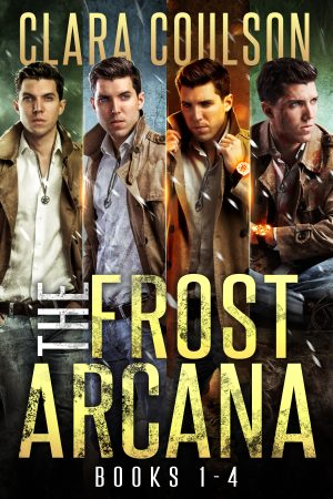 Cover for The Frost Arcana Books 1-4