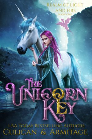 Cover for The Unicorn Key