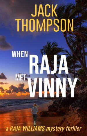 Cover for When Raja Met Vinny (a Raja Williams mystery thriller)