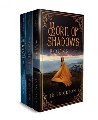 Cover for Born of Shadows, Books 1-3