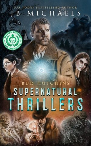 Cover for Bud Hutchins Supernatural Thrillers #1-3