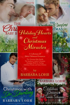 Cover for Holiday Hearts and Christmas Miracles