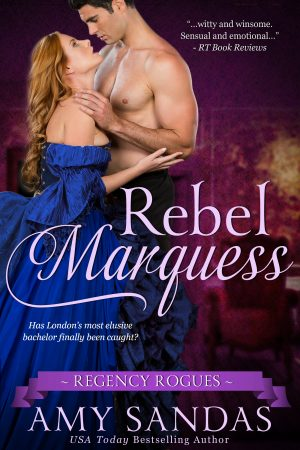 Cover for Rebel Marquess