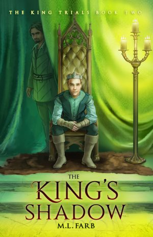 Cover for The King's Shadow