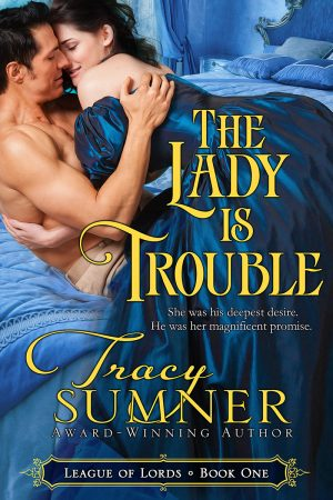 Cover for The Lady is Trouble