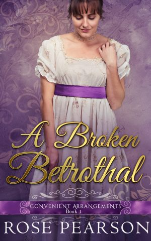 Cover for A Broken Betrothal