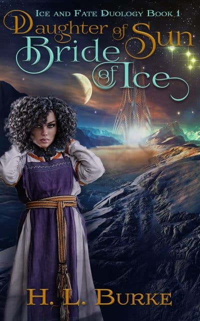 Cover for Daughter of Sun, Bride of Ice