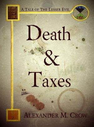 Cover for Death and Taxes