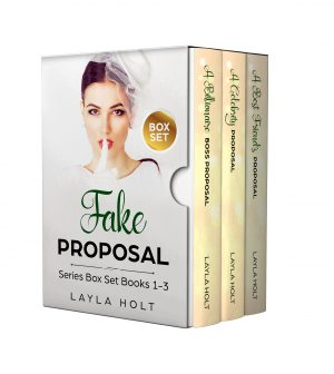 Cover for Fake Proposal Romance Series