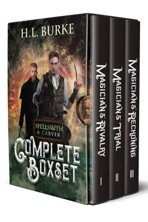 Cover for Spellsmith & Caver: The Complete Boxset