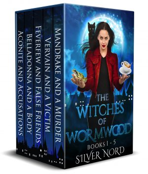 Cover for The Witches of Wormwood Mysteries