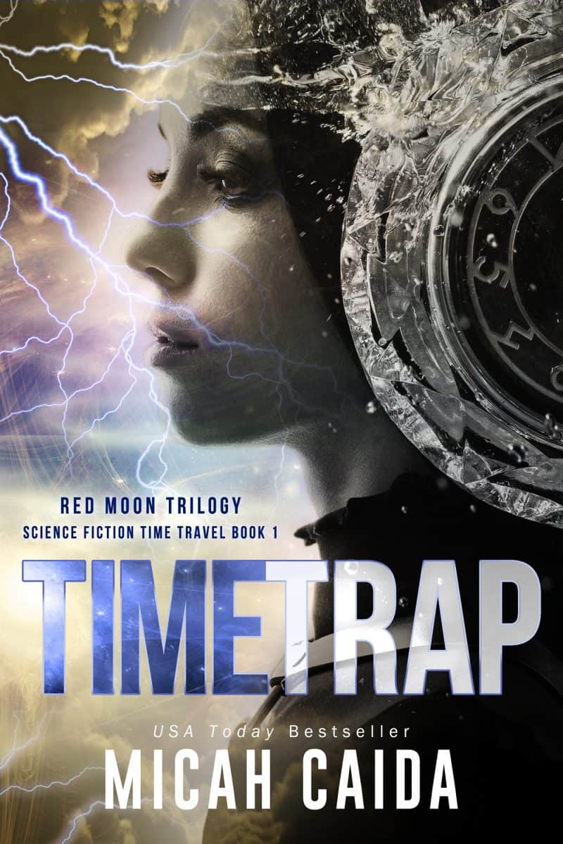 Cover for Time Trap: Red Moon Trilogy book 1