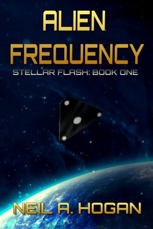 Cover for Alien Frequency