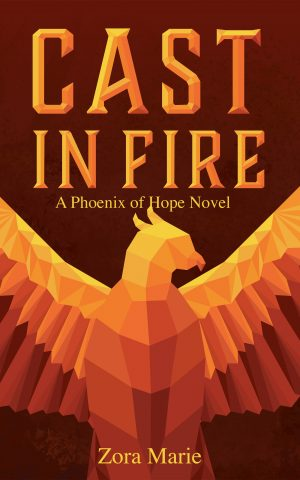 Cover for Cast in Fire