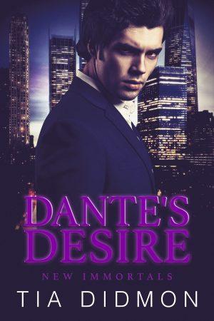 Cover for Dante's Desire